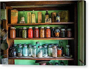 Canvas Print featuring the photograph Pantry by Paul Freidlund