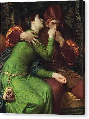 Paolo And Francesca Canvas Print
