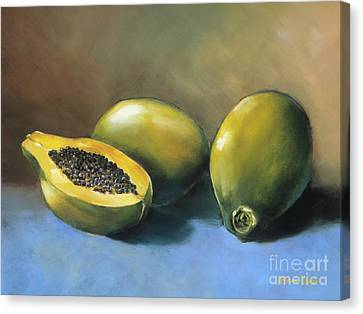 Papaya Canvas Print by Han Choi - Printscapes