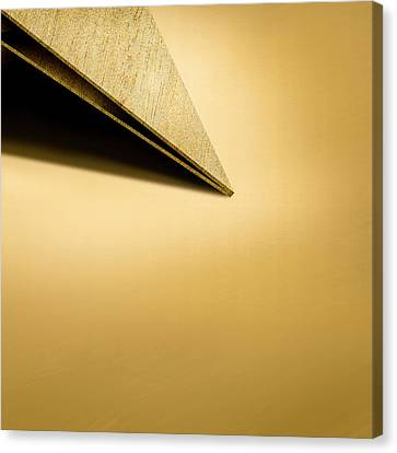 Paper Airplanes Of Wood 7-3 Canvas Print