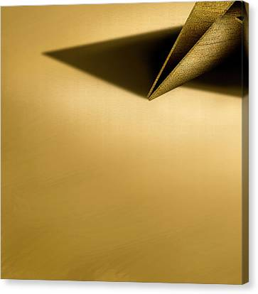 Paper Airplanes Canvas Print - Paper Airplanes Of Wood 7-4 by YoPedro