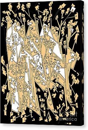 Deep Space Canvas Print - Paper Trails by Nancy Kane Chapman