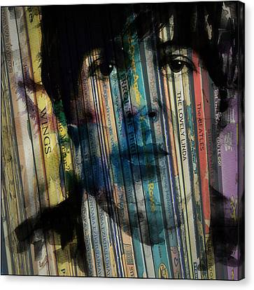 Paperback Writer Canvas Print by Paul Lovering