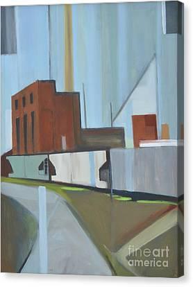 Paperboard Factory Bogota Nj Canvas Print