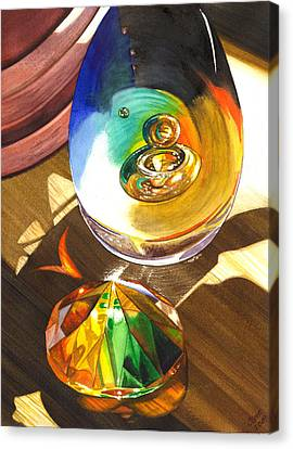 Paperweights Canvas Print by Catherine G McElroy