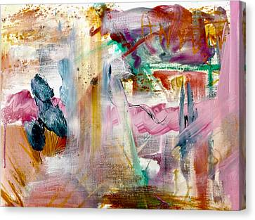 Luminous Body Canvas Print - Papillon Et Zigouigoui  by Contemporary Art By PEARSE