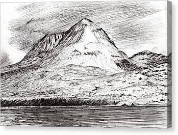 Paps Of Jura Canvas Print