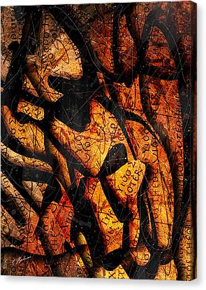 Papyrus Canvas Print by Gary Bodnar