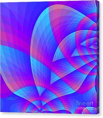Parable Canvas Print - Parabolic by Jutta Maria Pusl