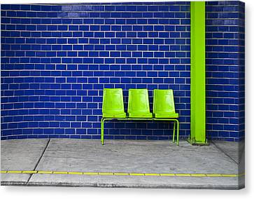 Chair Canvas Print - Paradaxochi by Skip Hunt