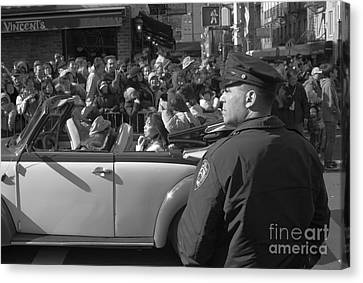 Parade Security Canvas Print by Clarence Holmes