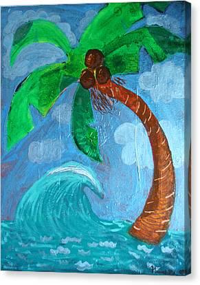 Paradise Canvas Print by Amy Parker