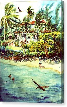 Paradise At Dorado Puerto Rico Canvas Print by Estela Robles