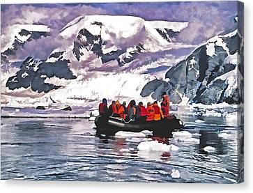 Paradise Bay  Canvas Print by Dennis Cox