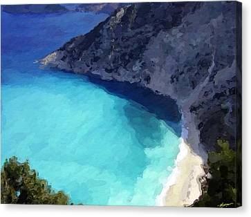 Paradise Cove Canvas Print by Anthony Fishburne