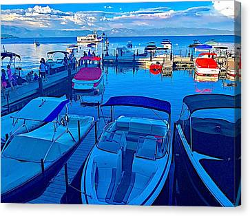 Canvas Print - Paradise Cove by Cadence Spalding