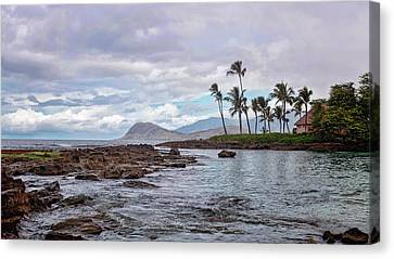 Paradise Cove Lagoon Canvas Print