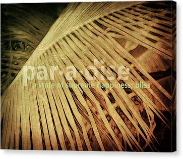 Canvas Print - Paradise Defined by Ann Powell