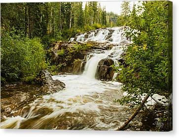 Paradise Falls-2 Canvas Print by Claude Dalley