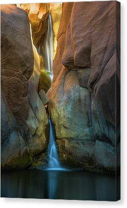 Canvas Print featuring the photograph Paradise Falls by Darren White