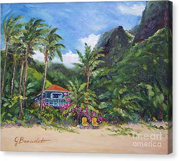Paradise Found Canvas Print