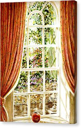 Paradise House In Bath England Canvas Print
