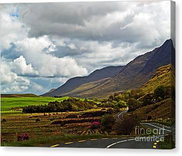 Paradise In Ireland Canvas Print