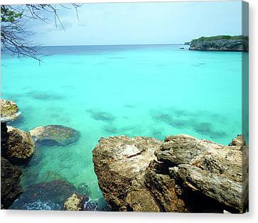 Canvas Print featuring the photograph Paradise Island, Curacao by Kurt Van Wagner