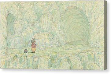 Paradise, Jes' Billy An' Me, An All The World Great Big Caves Of Sugar  Canvas Print
