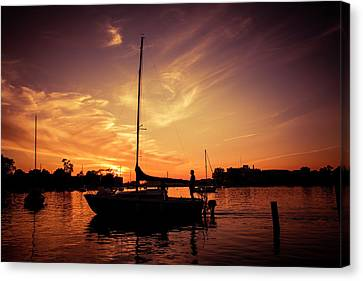 Canvas Print featuring the photograph Paradise by Joel Witmeyer