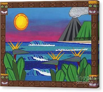 Paradise Canvas Print by Paula Hipp