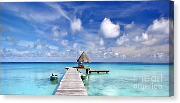 Michael Sweet Canvas Print - Paradise Pier by Michael Sweet