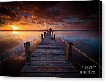 Paradise Sunrise  Canvas Print by Marco Crupi