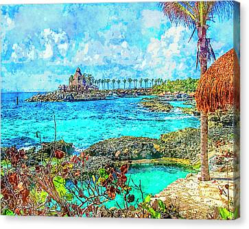 Paradise Canvas Print by Susan Leggett