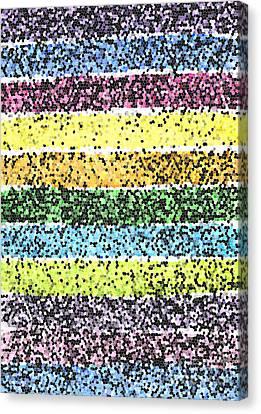 Appleton Canvas Print - Parallel Dazzle by Norma Appleton