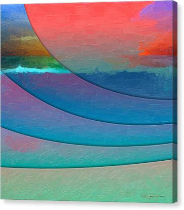 Parallel Dimensions - Submerged Canvas Print by Serge Averbukh