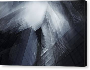 Parallel Canvas Print by Sebastien Del Grosso