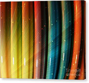 Sun Rays Canvas Print - Parallel Universes by Sharon Eng