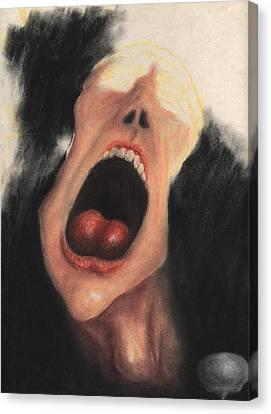Paranoia Canvas Print by KJA Stone