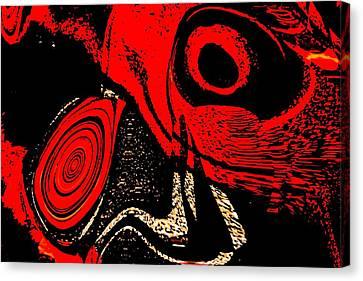 Paranoid Canvas Print by Max Steinwald