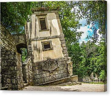 Parco Dei Mostri, Park Of The Monster, In Bomarzo Canvas Print by JR Photography