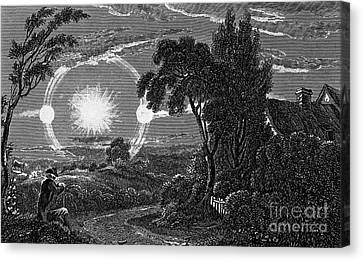Parhelion, 1820 Canvas Print by Wellcome Images
