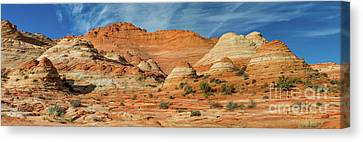 Paria Plateau Pano Canvas Print by Jerry Fornarotto