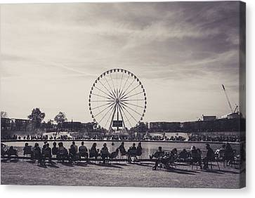 French Leisure Canvas Print by Saint Cloud