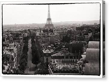 Paris 1966 Canvas Print