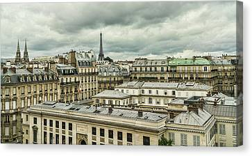 Paris 3 Canvas Print by Janet Fikar