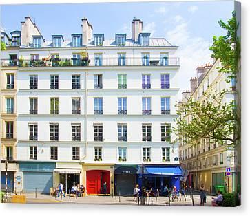 Multicolor Paris Canvas Print by Saint Cloud