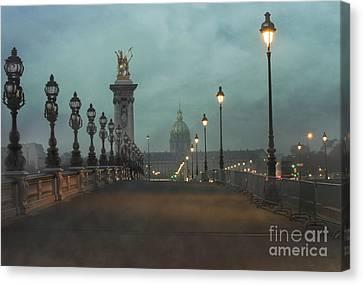 Paris Canvas Print by Juli Scalzi