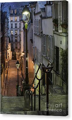 Paris At Night Canvas Print by Juli Scalzi