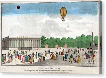 Paris: Bastille Day, C1801 Canvas Print by Granger